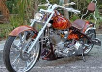 Anthony's Awesome Chopper Motorcycle