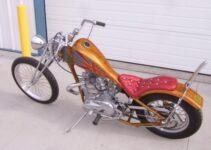 Triumph Bonneville Chopper
