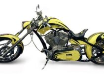 Yellow Viega Chopper