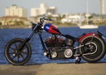 Custom Built Vagabond Chopper