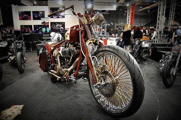 Brilliant Chopper Motorcycle