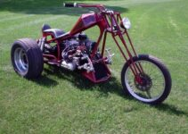 Tall Custom Chopper Trike