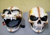Laughing Evel Skull Helmet