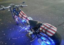 Phillip's Patriot Honor Guard Chopper
