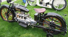 Militaire Antique Motorcycle