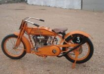 Old Harley Davidson Antique Motorcycle