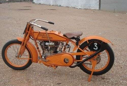 Old Harley Davidson Antique Motorcycle