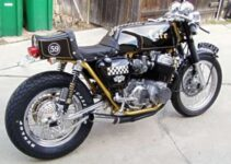 Sweet Cafe Racer Motorcycle