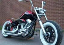 Clean Chopper Motorcycle