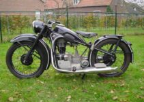 A Sweet Classic Motorcycle