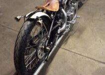 SnowFlake Custom Sportster | Motorcycle