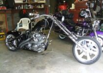 VON DUTCH KUSTOM CHOPPER MOTORCYCLE