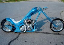 Big Blue | Custom Built Chopper Motorcycles