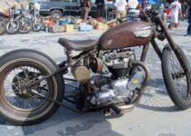 Classic British Rat Bike | Motorbike