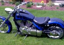 Midnight Blue VTX | Honda Chopper