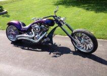Marcel's Purple Sled | Best Motorcycles