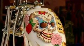 Smiling Skull Tank | Gas Tanks