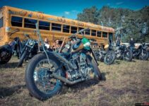 Old School Motorcycle Gathering | Free Rider