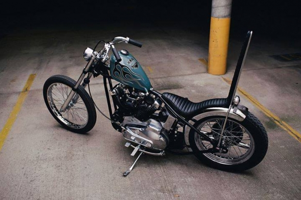 D A on 1982 Ironhead Sportster