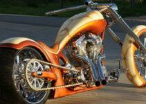 Creamy Ride   Custom Built Chopper Motorcycles