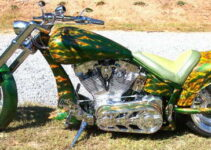 Emerging Flames   Custom Motorcycle Paint
