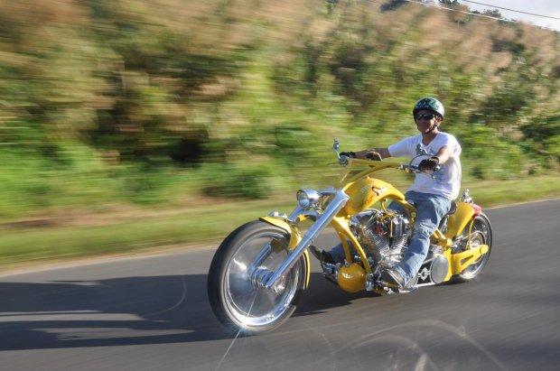 Peep Show Custom Chopper | Motorbike
