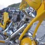show chopper motorcycle