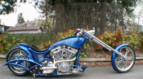 Suicidal Cycles   Custom Built Chopper