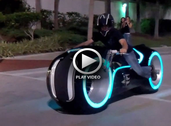 Tron Chopper Ride