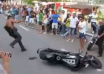 Tough Guy Motorcycle Fail