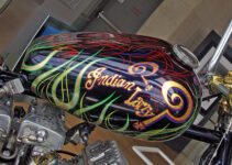 Indian Larry's Colorful Tank