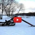 Harley Snowmobile Chopper