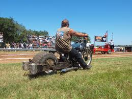 Columbus Texas Easy Riders Rodeo Tour! Motorcycle Rally Motorbike and Trike sled pulling race.