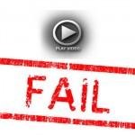 Redneck Chopper Burnout Fail Video
