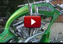 Grim Reaper Custom Chopper Motorcycle