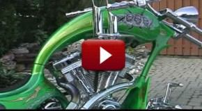 Grim Reaper Custom Chopper Motorcycle