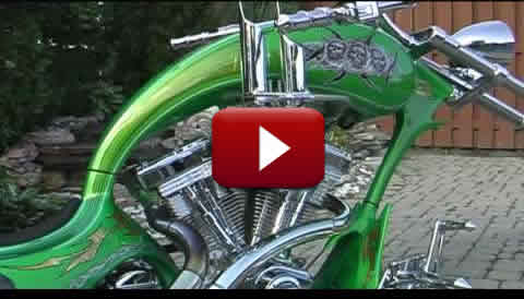 Grim Reaper Chopper Motorcycle Video