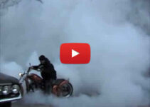 Chopper Burnout Tire Shred