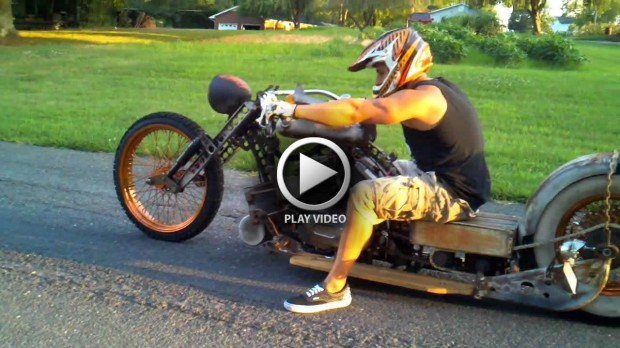 Rat Rod Chopper Motorcycle Totally Rad Choppers