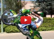 Baddest Bagger Wheelie