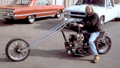 old style chopper